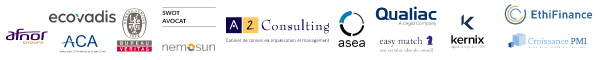 Baromètre ISO 20400 by A2 Consulting : sponsors