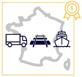 réseau de transport français