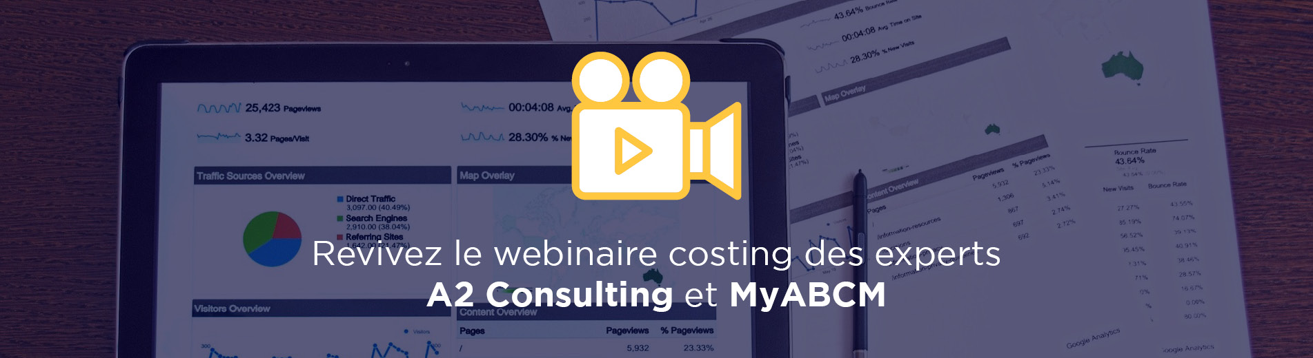 Revivez le webinaire costing des experts A2 Consulting et MyABCM