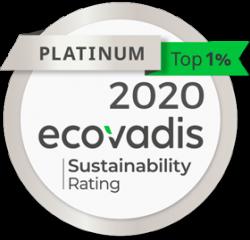 A2 Consulting statut platinum EcoVadis 2020